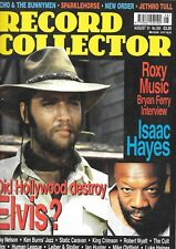 Record Collector magazine No.264 Elvis Presley, Isaac Hayes, Roxy Music