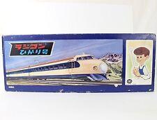 Vintage Trade Mark TM Radicon Hikari Monorail Type Train Japan Tin Battery Toy
