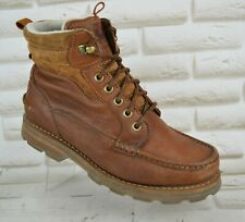 HELLY HANSEN WATERPROOF Mens Brown Leather Hiking Outdoor Boots Size 8 UK 42 EU