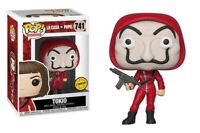 Funko pop chase la casa de papel tokio paper house figure movies serie tv toys