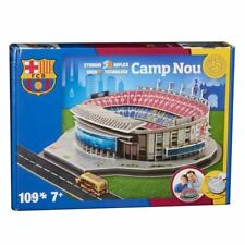 Camp Nou Barcelona Stadium 3D Model Jigsaw Puzzle (109 Pieces)
