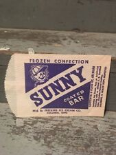 Sunny Coated Ice Cream Bar Bag  Wrapper Freckers Ice Cream Columbus, Ohio
