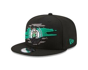 Boston Celtics New Era Logo Tear 9FIFTY Adjustable Snapback Hat