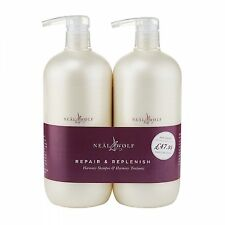 Neal And Wolf Repair & Replenish Duo 950ml Shampoo & Treatment 2 Product Set