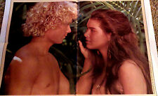 "The BLUE LAGOON movie poster 1980. 40x27"". NOT a reprint. Brooke Shields."