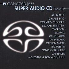 Concord Jazz Super Audio CD Sampler 1 Very Good condition