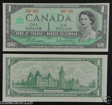 Canada Banknote One Dollar 1967 UNC