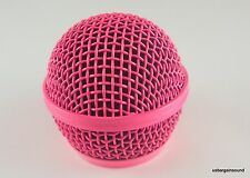 Procraft Hot Pink Replacement Microphone Grille for Shure SM58 & Similar Mics