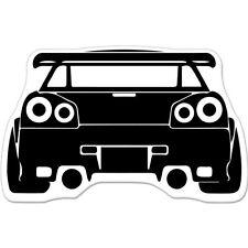 "Sports Car Shift Drift car bumper sticker decal 6"" x 4"""
