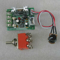DC12-24V PWM Miniature DC Motor Speed Controller With Reversing Switch