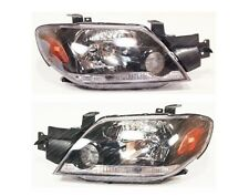 MITSUBISHI Outlander 2003-2005 Front head lamps lights LEFT+RIGHT ONE SET Europe