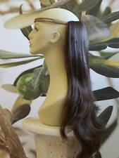 marron moyen 1 pièce Pince Extension de cheveux 63.5cm long ÉFFILÉ 10 Kims WIGS
