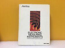 Anritsu 1987-1988 Electronics Measuring Instruments
