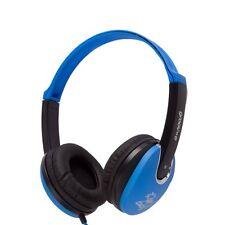 Groove Kidz Stereo Headphones DJ Style Music Earphones / Pink Blue Red Purple