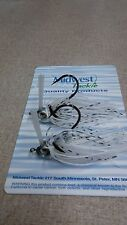 jigs 2 ct/Jigs 1/2 oz flipping and casting jigs white shad
