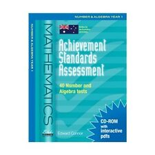 Achievement Standards Assessment Number & Algebra Yr 1 / it will help teachers!