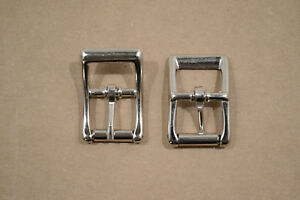 "Roller Buckle - 3/4"" - Nickel Plated - Pack of (F398)"