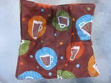 Reversible Safety Microwave Bowl Holder Pot Holder Handmade New  Made in USA 01