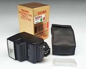 Sigma Electronic Flash 287 MA For Minolta-Af