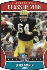 2018 Panini NFL Collecting Stickers, #3 Jerry Kramer