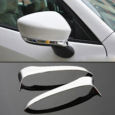 Fit For 2012-2014 Mazda Cx-5 Cx5 Chrome Side Mirror Cover Rear View Trim Strips