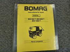 heavy equipment manuals for bomag compactor ebay rh ebay com BOMAG BMP 8500 BOMAG BMP 8500