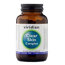 Viridian Clear Skin Complex 60 Vegetarian Capsules