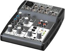 Behringer XENYX502 502 XENYX Professional DJ Studio Analog Audio Mixer New!