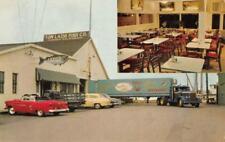 LAZIO'S SEA FOODS Humboldt Bay, Eureka, California ca 1950s Vintage Postcard
