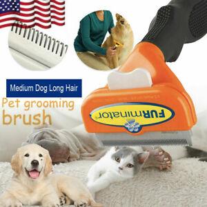 FURminator Undercoat Deshedding Tool for Dogs ( medium -Long Hair)