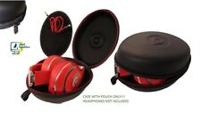 Beats by Dr.Dre Oem Hard Case w/pouch for Studio/Studio 2/ Studio 3.