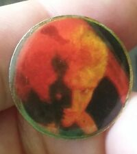 Billy Idol vintage 1980's jacket pin Rebel Yell