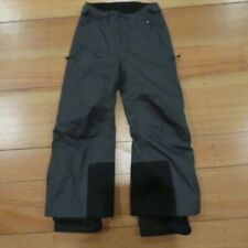 Rei Ski Snow Pants Adjustable Waist Insulated Charcoal Boy'S Sz Xxs 4-5