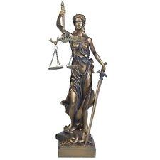Justitia Figur Gerechtigkeit Göttin Mythologie Dekoration Anwalt Kanzlei JUST01