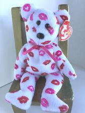 "TY Beanie Baby ""KISSY"" the Valentine Bear: 2003, retired:  MWMT:  DARLING!!"