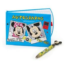 Official Disney Store Mickey and Friends Autograph Book and Pen Set 19 x 13cm