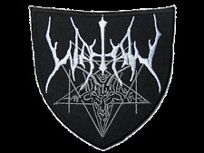 WATAIN Shield Black Metal Embroidered Iron On Sew On Shirt Bag Badge Patch