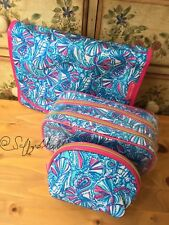 NWOT LillY PulitzeR Target 3 Makeup Travel Cases My Fans