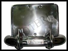 Vespa Rear Bumper Number Plate Holder Vbb Super Sprint 150 125 PX P Star Stella