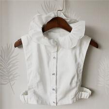 Fake Embellished Faux Collar Bib False Collar chiffon Half Shirt