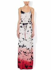 Love Sam Drawstring Maxi Dress In Tie-Dye Sunset Size XS