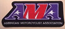 """AMA patch American Motorcycle 4 7/8"""" wide iron-on American Motorcyclist Assoc."""