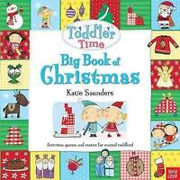 Toddler Time: Big Book of Christmas, Saunders, Katie, Very Good Book