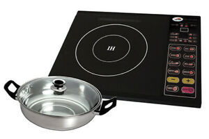 Kyowa Electric Induction Stove Cooker with Stainless Pot KW-3645