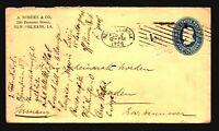 US 1898 Stationery Cover to Germany / Machine Cancel - Z19336