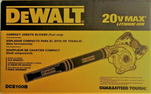NEW Dewalt DCE100B 20V Cordless Leaf Blower 18-20 Volt MAX DCE100B