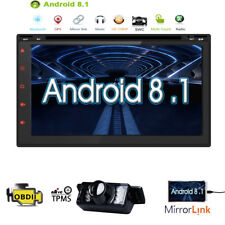 7inch Android 8.1 Double 2 Din InDash Car CD DVD Radio Stereo WiFi 3G GPS+ Cam