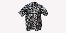 NUEVO Hawaii hecho a mano 100% Algodón Fino Batik FRÍA Camisa hombre manga corta