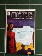 Star Trek Boldly Go Issue #4 Variant Cover IDW Comic Nyota Uhuru