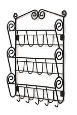 Wall Mount Hangin File Sorter Mail Organizer Folder Magazine Holder Rack Storage